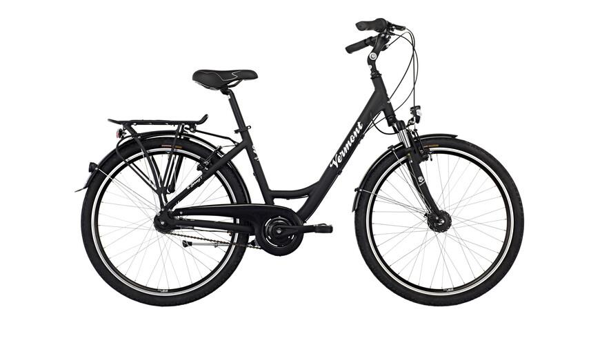"""Vermont Jersey 7 kaupunkipyörä 26"""" , musta"""